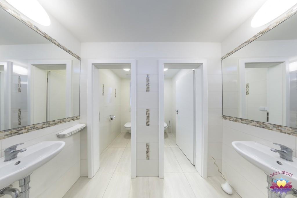 toalety vzdělávací část Oáza Srdce