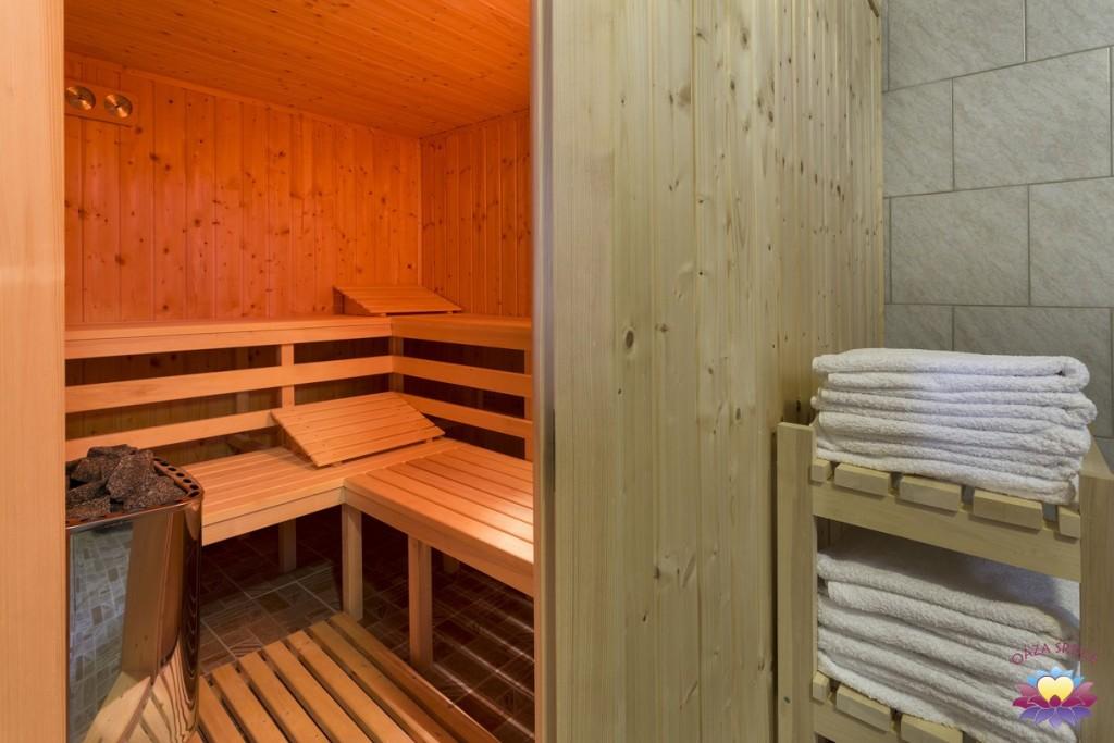 sauna Oáza Srdce