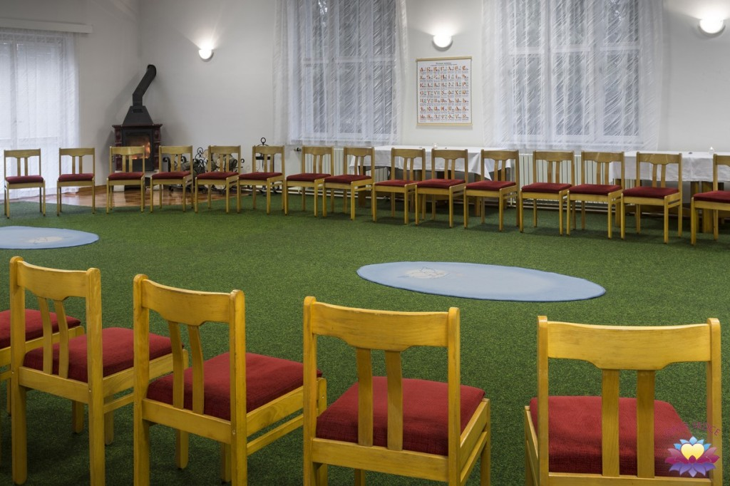 velký sál Oáza Srdce