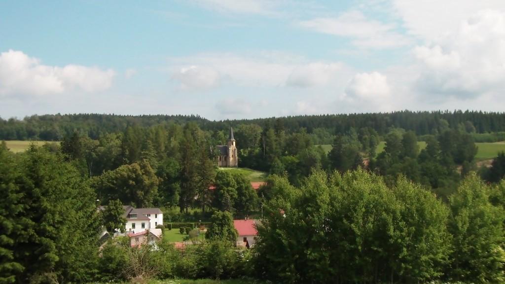 Kaple Panny Marie okolí Oáza Srdce