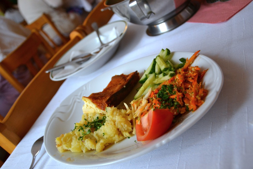 Vegetariánské jídlo 2 Oáza Srdce