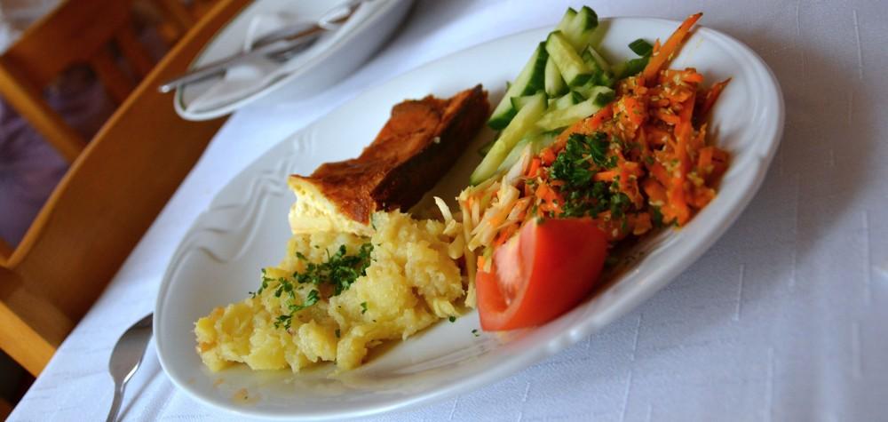 vegetariánská strava Oáza srdce